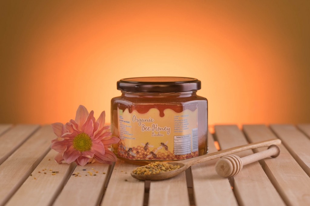 Organic Bee Honey - Linden